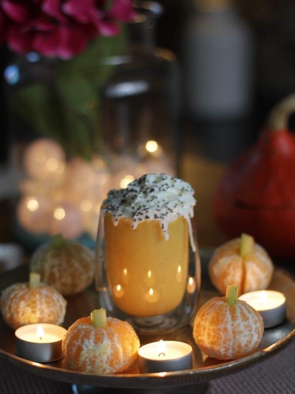 PS! Mandariinidest saab teha minikõrvitsaid, mis on nii armsad! :)